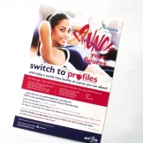 Active Luton – Profiles 'Crunch' Flyer