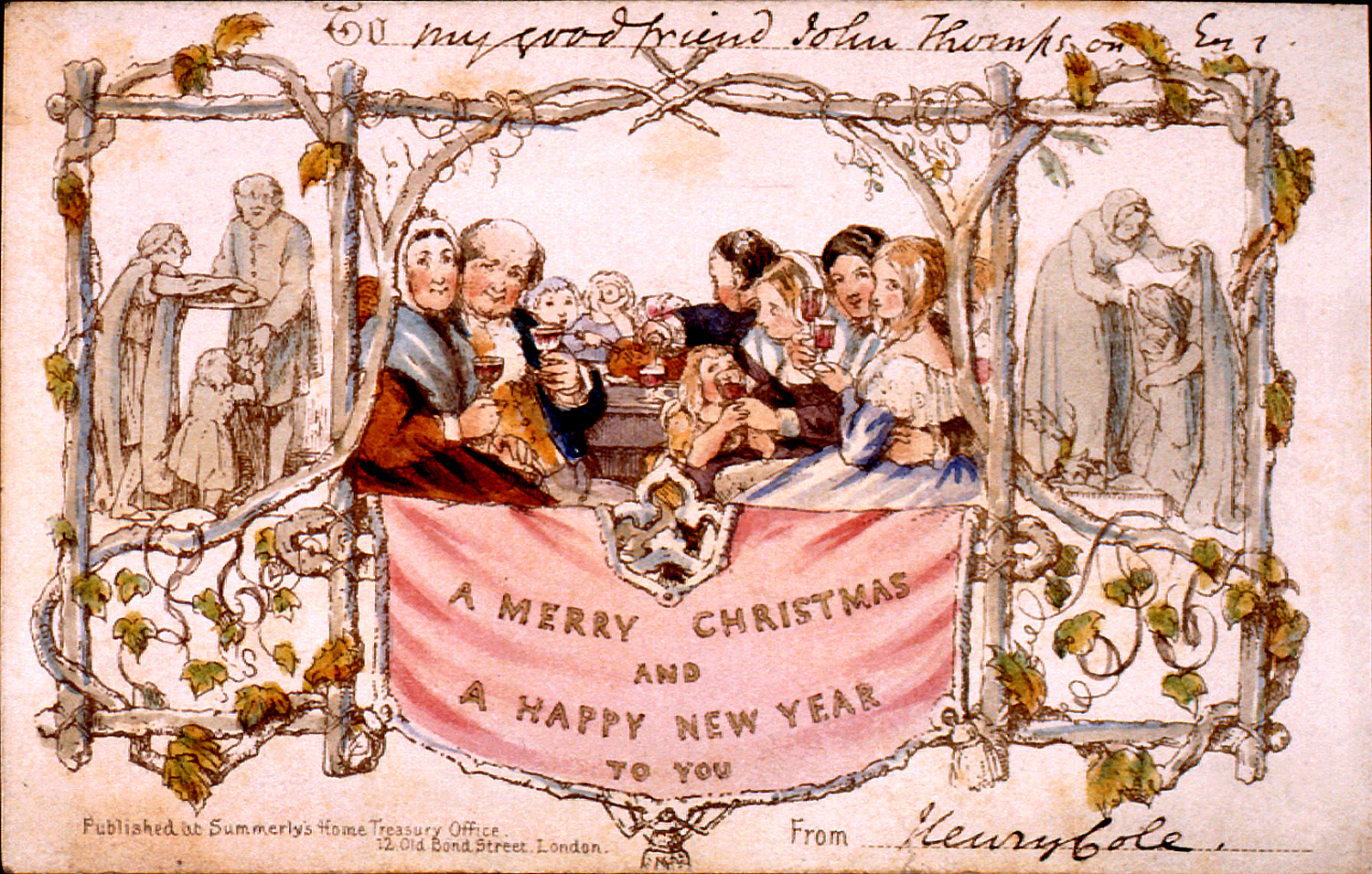 Henry-Cole-1st-Christmas-Card