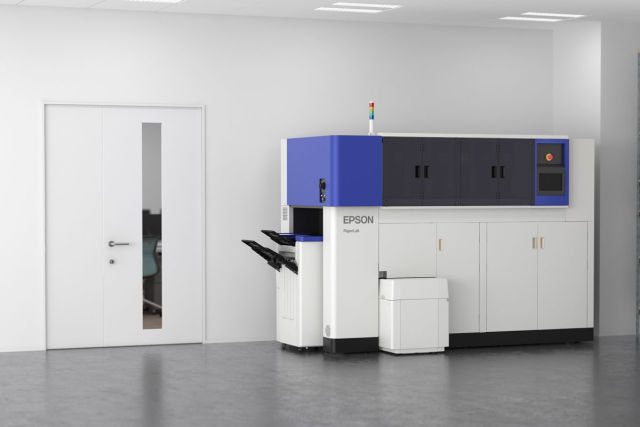 Epson unveils the world's first in-office paper recycling system!