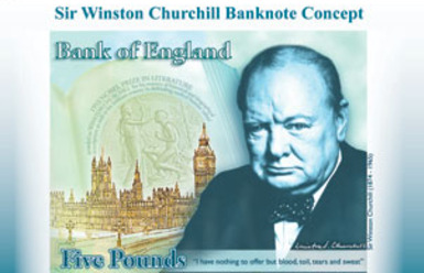 Bank of England Prints Polymer Bank Notes